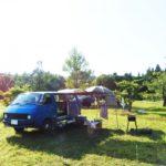 フォレスターで車中泊キャンプを快適に楽しむ!テント無しでキャンプ